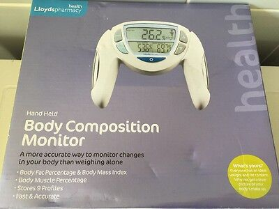 lloyds health pharmacy body composition monitor Diet Slimming Health Aid BMI Etc