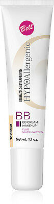 Bell HYPOAllergenic BB CREAM MAKE-UP Multi Functional Fluid 02 Natural 30g 1.1oz