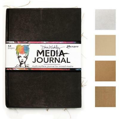 Dina Wakley Mixed Media Journal - 54 Pages of Crafty Surfaces for Art