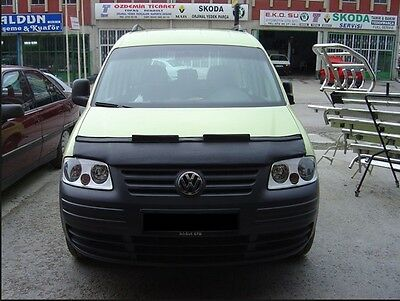 VW Caddy Bonnet  Bra Wind Deflector(Half) Vinyl 2004-2009