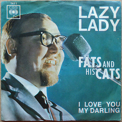 "7"" Fats And His Cats - Lazy Lady - DE 64 - NM"