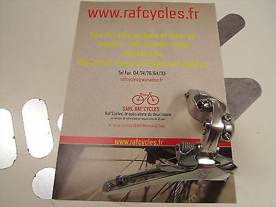 NEW Campagnolo 9s Double Clamp on 28.6 Front Derailleur Chorus 2000 NOS Vintage