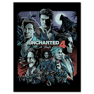 Uncharted 4 Poster - Exclusive Design - High Quality Prints