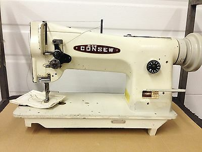 Consew 206-Rb4  Walking Foot Big Bobbin With Reverse  Industrial Sewing Machine