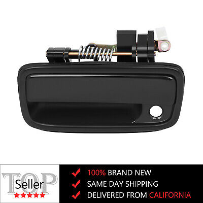 For 95-04 Toyota Tacoma Door Handle Black Exterior Outer Front Left Driver Side