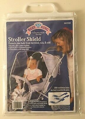NEW Baby Stroller Rain Cover Wind Protect Outdoors Baby King Shield