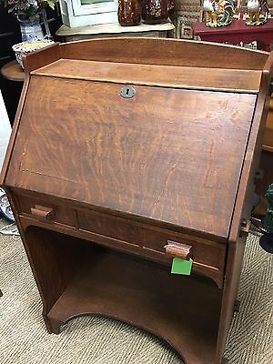 Stickley Era Mission Oak Arts And Crafts Desk
