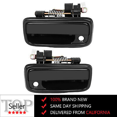 For Toyota Tacoma 95-04 Front Outside Outer Door Handle Pair 69220 69210 35020