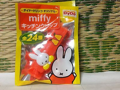 Miffy kitchen clip Japan Not For Sale Rare DyDe 1pc Free Shipping BRAND NEW:)