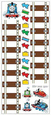 Roommates Rmk1126Gc Thomas And Friends Peel & Stick Growth Chart NEW