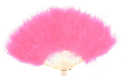 Zucker Feather Products Large Marabou Feather Fan Pink Orient NEW