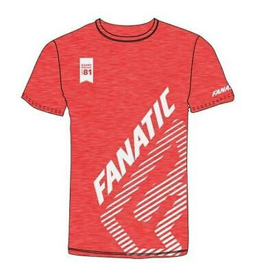 Fanatic TEE SS in Heather Red