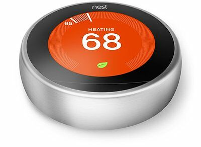 Nest Learning Thermostat 3rd Generation Intelligent Thermostat T3007ES