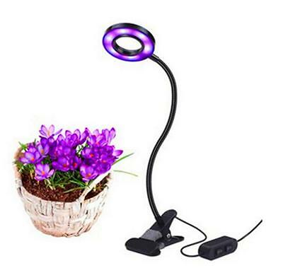 Led Grow Light Profession Plant Lamp for Indoor Plants 10W Adjustable 6 Level
