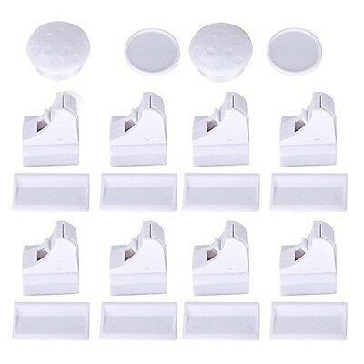 FABE Magnetic Cupboard Locks for Baby Safety Child Proofing 8 Locks + 2 Key I7T2