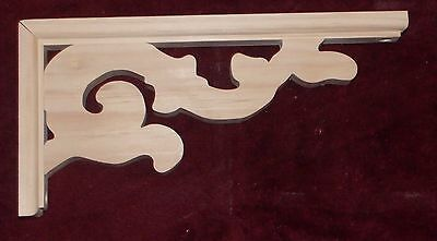 "Victorian Wood Gingerbread { 6"" x 12"" } Porch & House Trim Bracket #58 ~ by  PLD"