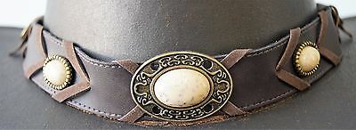 hat band / choker / necklace  Hat band with decorative badges
