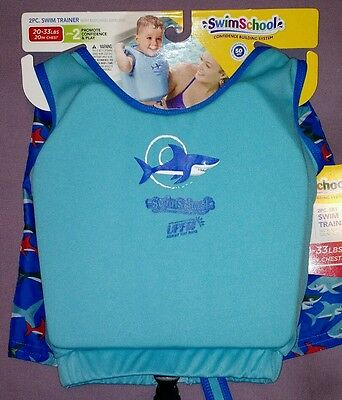 2 Piece Swim Trainer Swim School 20-33 lbs