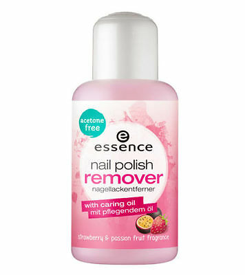 Essence Nail Polish Remover With Caring Oil & Passion Fruit -Acetone Free 150ml
