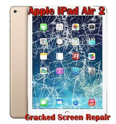 Apple iPad Air 2 LCD Display Touch  Digitizer Cracked Screen Repair Service