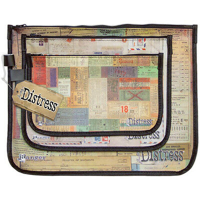 Accessory Bags - Set of 3 Storage Pockets - Tim Holtz