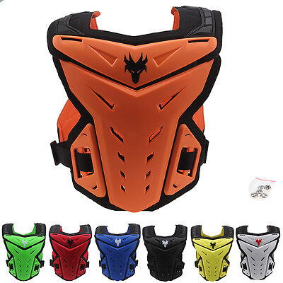 Men's Enduro Body Armor MOTO-X MX Back Vest Protective Gear Bicycle Spine Guards