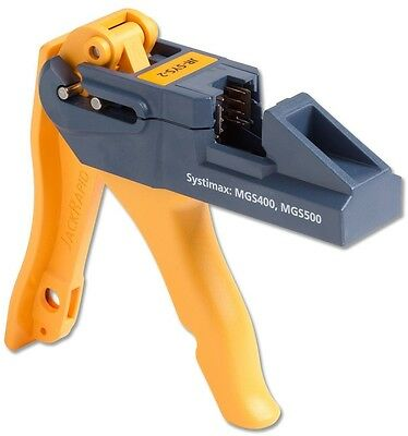 Fluke Networks JR-SYS-2 JackRapid Punch Down Tool for Systimax MGS400, MGS500,