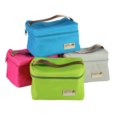 Waterproof Lunch Bag Insulated Box Picnic Cooling Food Storage Handbag Travel SP
