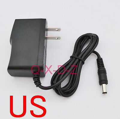 AC Adapter DC 12V 200mA Switching power supply 0.2A US plug DC 5.5mm x 2.1mm