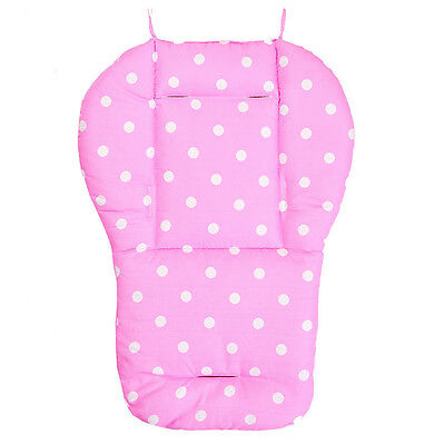 W218 Thick Baby Infant Stroller Car Seat Pushchair Cushion Cotton Cover Mat Pink