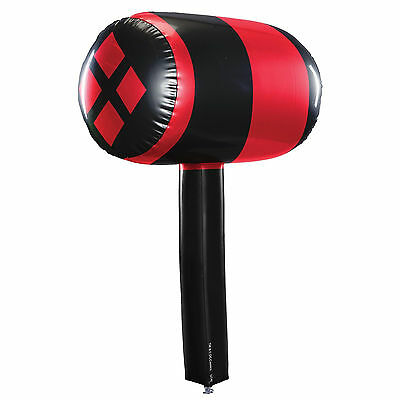 Inflatable Toy Harley Quinn Mallet Party Decoration Dress Up Accessory 68.5Cm