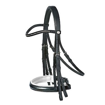 Schockemohle Cannes Double Bridle - Includes Reins