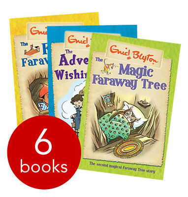 The Magic Faraway Tree and Wishing-Chair Collection - 6 Books