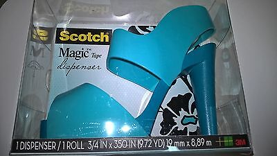 Scotch Magic Tape Dispenser High Heel Shoe w tape