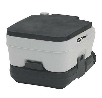 Outwell 10 Litre Portable Chemical Camping Toilet / Potti - RRP £59.99 -