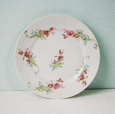 "Limoges 8 3/8"" Salad Plate, Wm. Guerin & Co.  France"