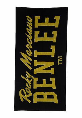 Benlee Handtuch Berry Towel black/yellow schwarz/gelb Bodybuilding Fitness