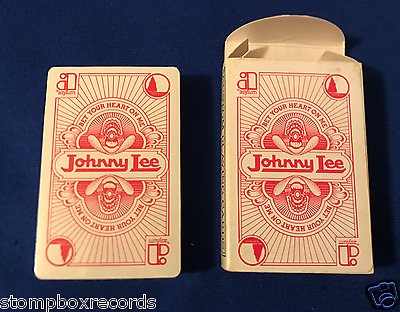 vintage Johnny Lee PROMO PLAYING CARDS SEALED Asylum Bet Your Heart On Me