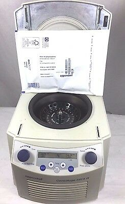 Eppendorf 5415R Refrigerated Centrifuge w/ Rotor & New Lid, 6 Month Warranty