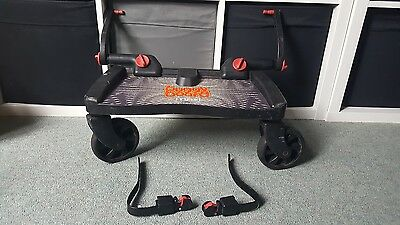 lascal maxi buggy board & uncut adapters Fits over 90% of pushchairs