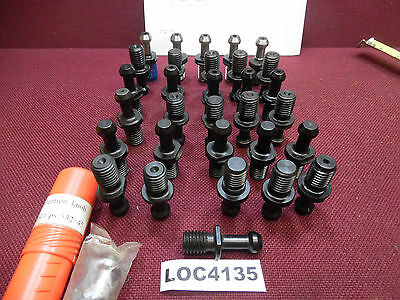 Lot Of 32 Cat 40 Retention Knobs Pull Studs Fit Haas Loc4135