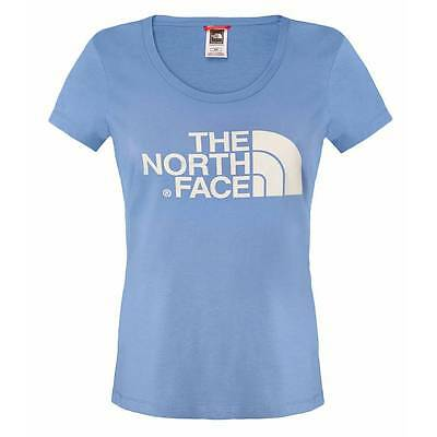 T-shirt The North Face W Easy vintage blue