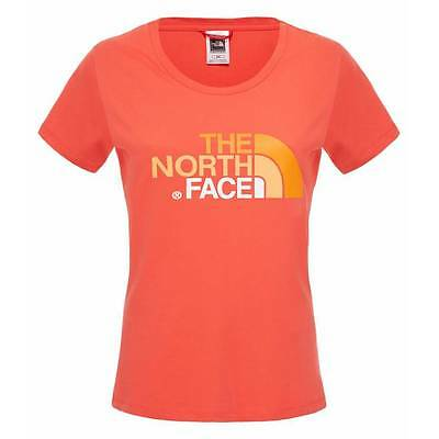T-shirt The North Face W Easy melon red