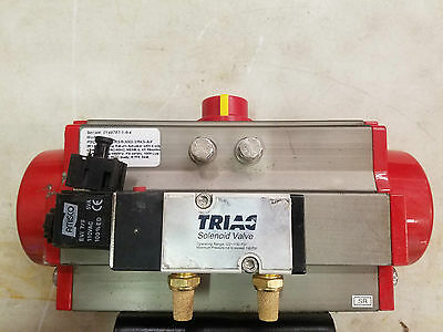 Triad 2R130Sr Spring Return Actuator W/ 3In Butterfly Valve Triac
