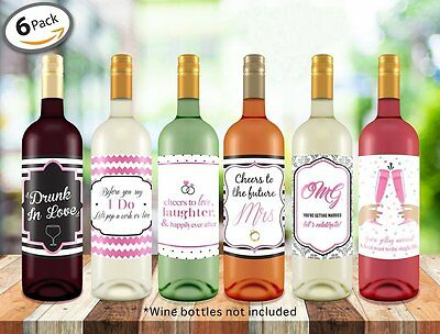 Wine Bottle Labels ● Bachelorette Party ● Bridal Shower ● Wedding Gifts of