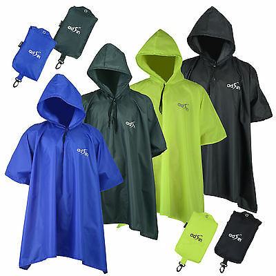 Bike Outdoor Cycling Rain Cape Poncho Coat Rain proof Waterproof Hornhill