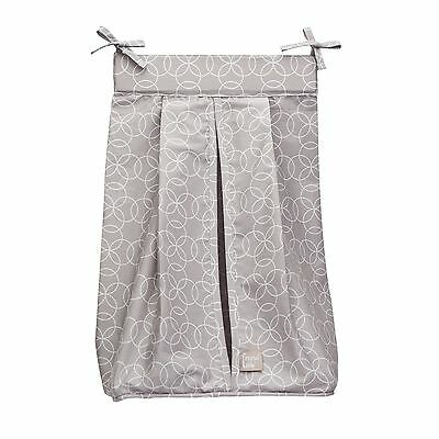 Trend Lab Circles Gray Diaper Stacker Pack of 1 NEW
