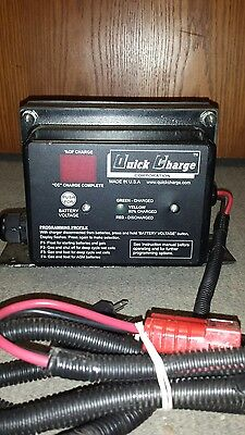 Quick Charge 24v /25a  (SCO2425) On Board Battery Charger .New/Old Stock