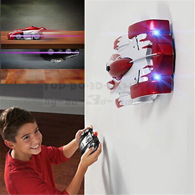 NEW Toy Kid Toddler RC Car Remote Control Vehicle Racer Spiderman Wall Climbing