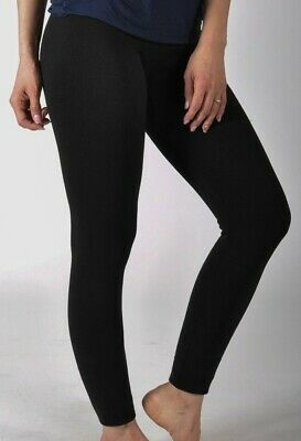 8c04dae75dc3f New Womens Ladies Thick Winter Lining Thermal Fleece Leggings Size 8-18